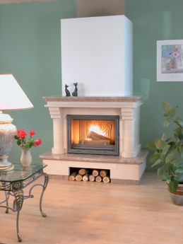 Fireplaces: Saint Chamant